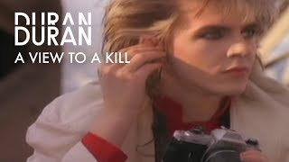 Duran Duran- A View To A Kill (Official Music Video)