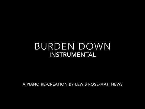 Burden Down - Jennifer Hudson Instrumental