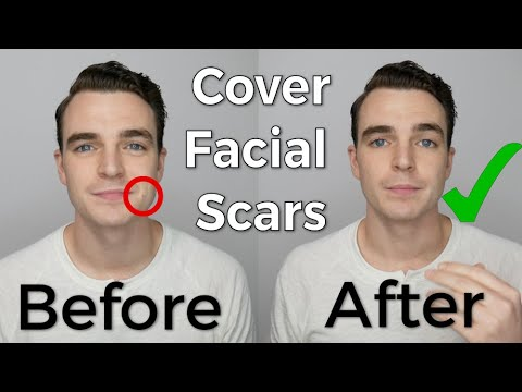 Using Men S Concealer To Cover Acne Scars Or Most Facial Scars Youtube