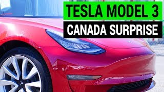 Good News for Tesla Model 3 in Canada