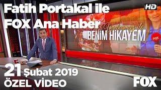 Ankara'da başkanlık yarışı mahkemeye taşındı! 21 Şubat 2019 Fatih Portakal ile FOX Ana Haber