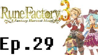 Rune Factory 3: A Fantasy Harvest Moon Playthrough Ep. 29. Fishing For The Univir