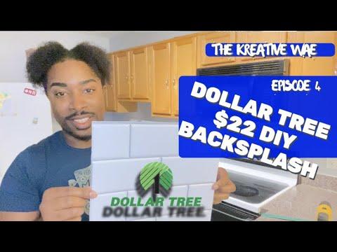 DOLLAR TREE DIY PEEL AND STICK BACKSPLASH - IS THIS LEGIT?