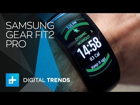 Samsung Gear Fit 2 Pro – Hands On Review
