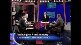 Replacing Sen. Frank Lautenberg: Christie Names Temporary Senator
