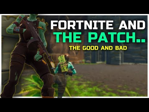 Update Review   Fortnite After The Patch Analysis.
