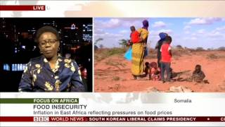 Rising food prices in Africa - BBC interview
