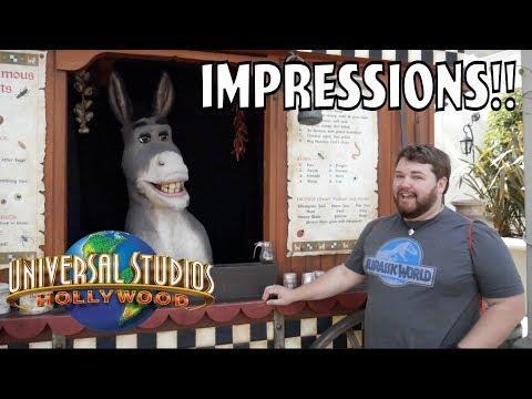 Donkey Said I Was Impressive! - Universal Impressions