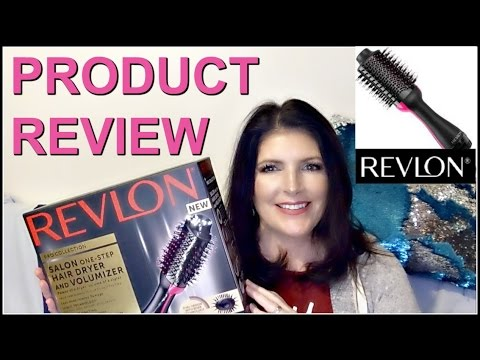 Revlon One Step Hair Dryer And Volumizer Review YouTube