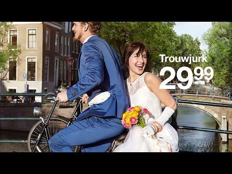 Zeeman trouwjurk reclame