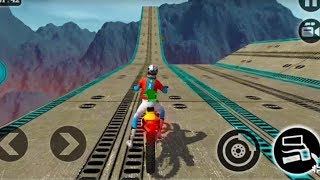 IMPOSSIBLE MOTOR BIKE TRACKS 3D #Dirt Motor Cycle Racer Game #Bike Games To Play #Games For Kids Video