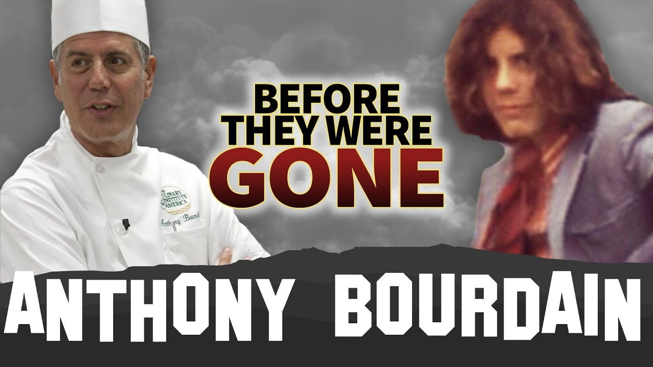 bb4abad3a ANTHONY BOURDAIN | Before They Were GONE | Host & Celebrity Chef Tribute