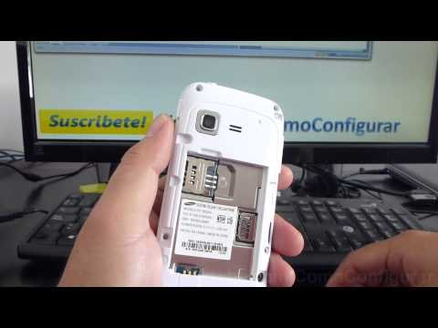 Como Insertar Chip Samsung Galaxy Chat Gt B5330 Español Video Full HD
