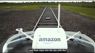 Amazon Prime Air's First Customer Delivery