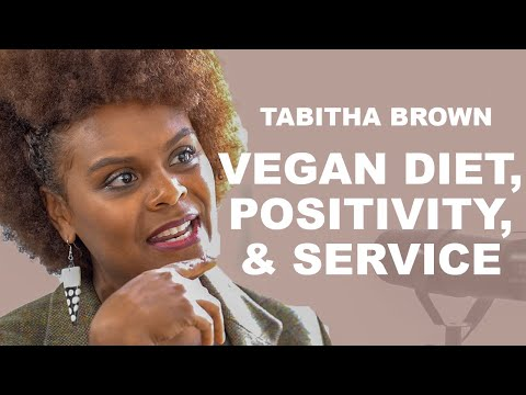 Plant-based Vegan Diet, Positive Mindset, and Serving Others with Tabitha  Brown and Koya Webb