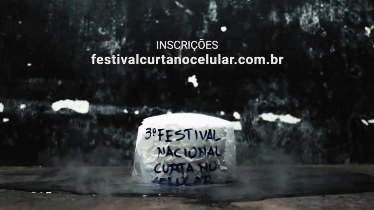 """Institucional - Festival Nacional """"Curta no Celular - 2017"""