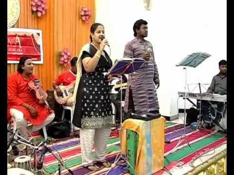 valaiosai tamil song sung in our light music troupe