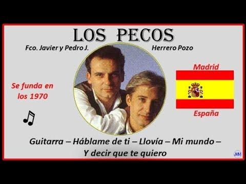 Los Pecos (1970) Madrid(España) Música: Guitarra-Háblame De Ti-Llovía-Mi Mundo-Y Decir Que Te Quiero