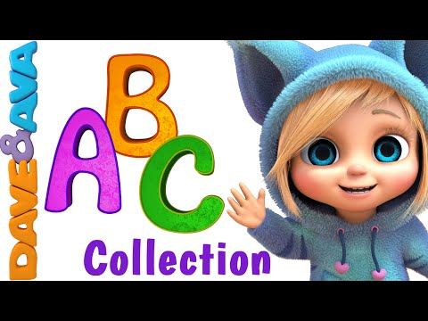 Thumbnail: ABC Song | Nursery Rhymes Collection | YouTube Nursery Rhymes from Dave and Ava