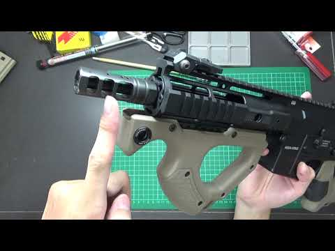 ICS & ASG - HERA ARMS CQR M4 - FAQ 回覆網友問題