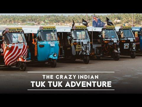 Americans Traveling Across India by Tuk Tuk Series - Trailer (4K)