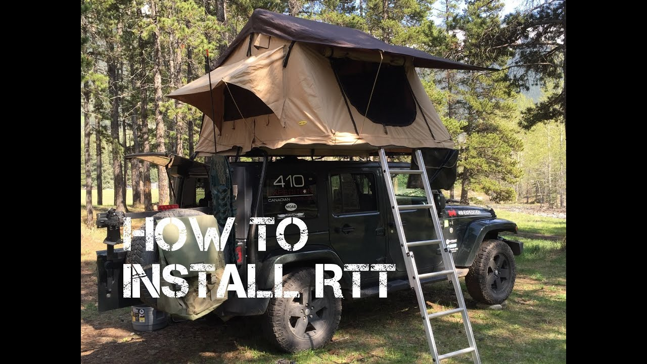 410 Expedition Canadian Overland How to Install the Smittybilt #2783 RTT & 410 Expedition Canadian Overland: How to Install the Smittybilt ...