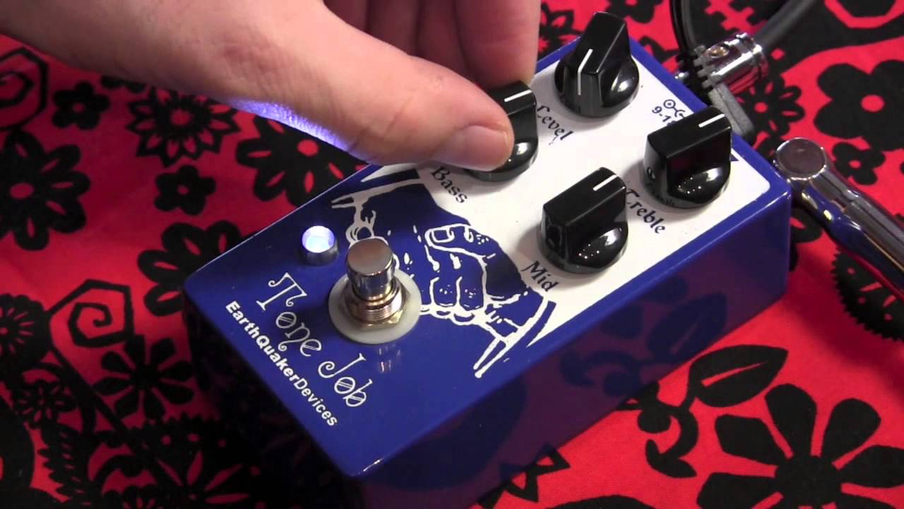 Guitar Pedal Jobs : earthquaker devices tone job preamp eq guitar effects pedal demo youtube ~ Hamham.info Haus und Dekorationen