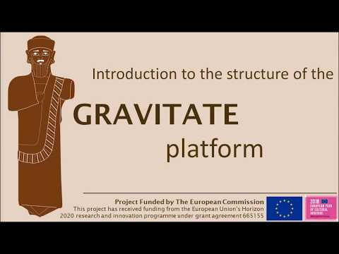Introduction to the GRAVITATE platform - tutorial 1
