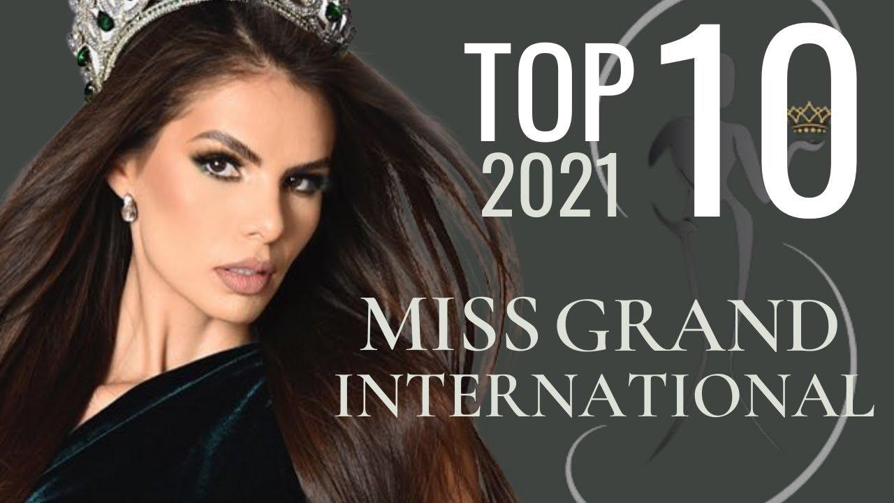 Miss Grand International 2021 Top 10 [Leaderboard]!
