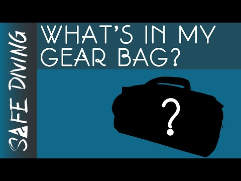 What's In My Scuba Diving Gear Bag