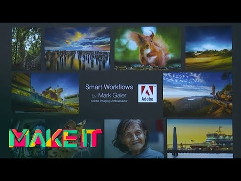 MAKE IT 2017 - Mark Galer - Smart Imaging Workflows for Smart Creatives
