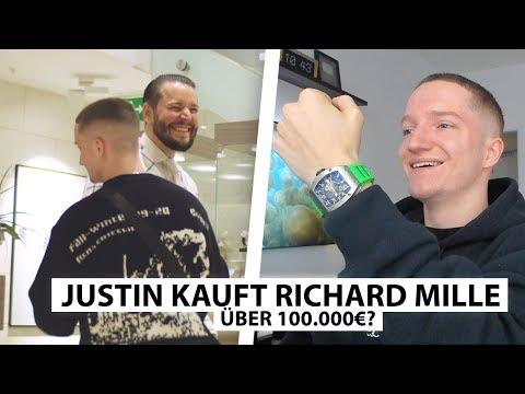 Justin reagiert auf Richard Mille Kauf bei Marc.. | Reaktion