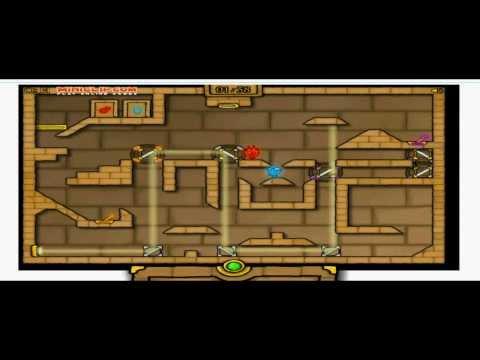 Прохождение игры Огонь и Вода 2: Светлый Храм (ВСЕ УРОВНИ)