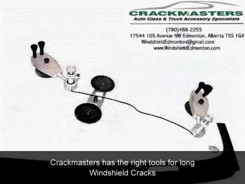 Crackmasters Windshield Edmonton