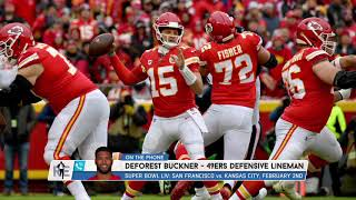 How Do You Stop Patrick Mahomes? DeForest Buckner Gives His Answer | The Rich Eisen Show | 1/21/20