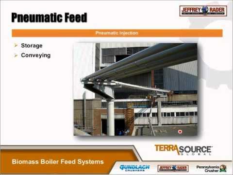 Biomass Boiler Fuel Feed Systems - TerraSource Global Webinar Series