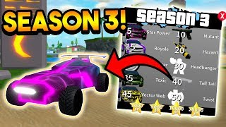 NEW HYPERDRIVE VEHICLE, NEW MAP MYSTERY, CODE, ETC! (SEASON 3 *HUGE UPDATE*) | ROBLOX: Mad City