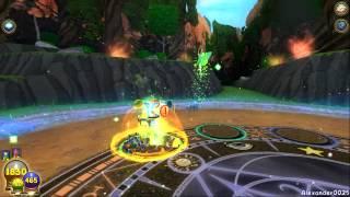 Wizard101 AVALON Jabberwock Boss solo