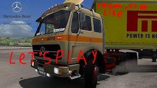 Euro Truck Simulator 2  Путешествие по европе на мерсе