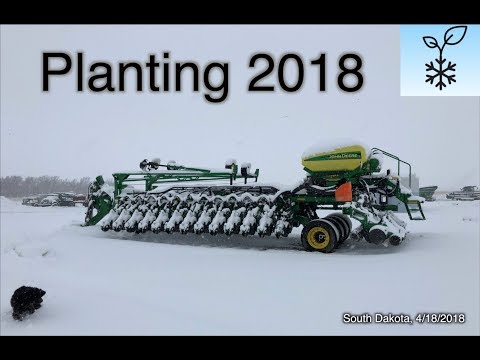 """Snowtill"" - Coldest since 1895 - Planting On Hold - Farmers Miserable"
