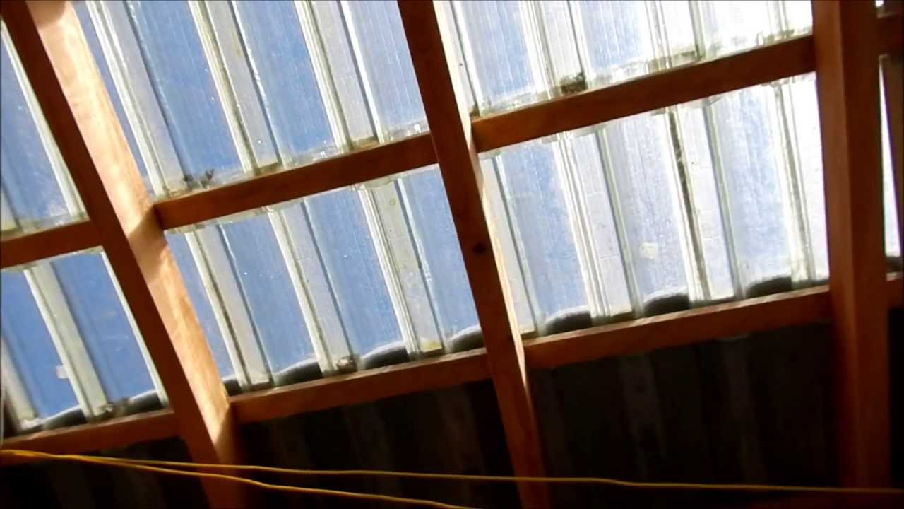 Well-known Ecolaje com Telhado Transparente. - YouTube AK24