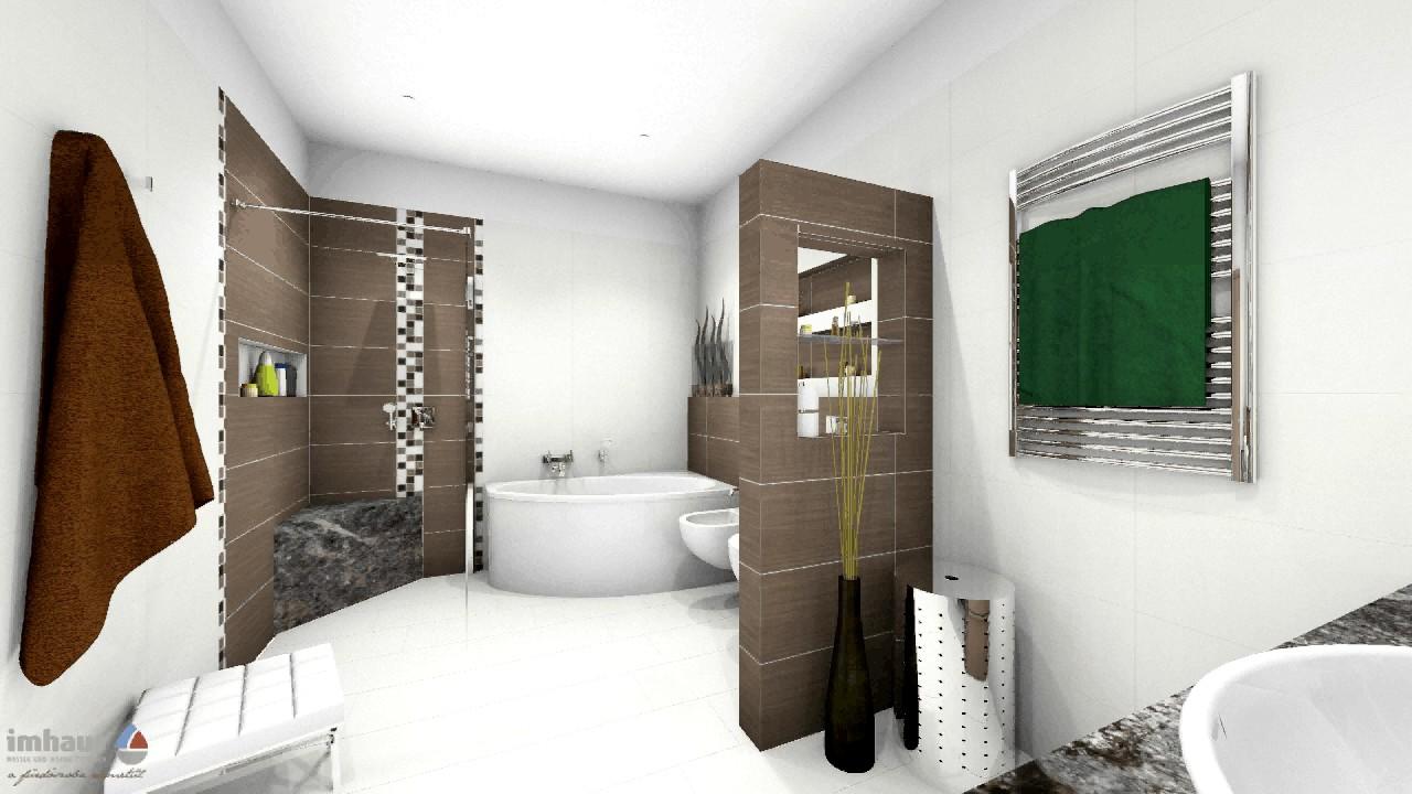 L alakú fürdőszoba zuhanykabinnal és fürdőkáddal 8 m2 felett - YouTube