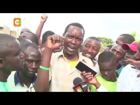 Kajiado Bodaboda riders have burnt vehicle and property belonging to businessman Joseph Rasta