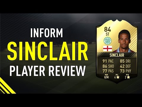 FIFA 17 SIF SINCLAIR (84) PLAYER REVIEW