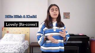 Billie Eilish  Khalid - Lovely (recover)