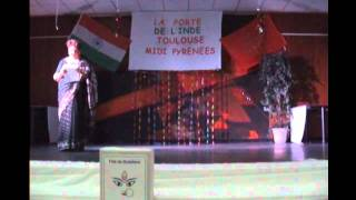 Dance - Asato Ma Sadgamaya - Ya Devi Sarva Bhuteshu - Fete de Dusherra, Toulouse 2011.