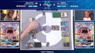 Masters Final Tord Reklev Vs Zakary Krekeler-2017 European International Championships