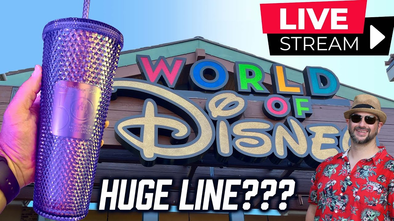 Download Why was the line at Disney Springs HUGE this morning? Dad Live Stream!
