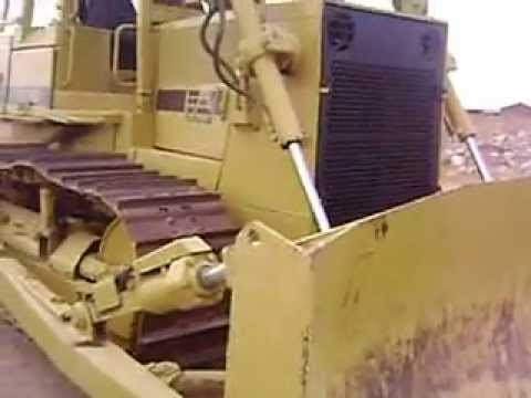 MOV09292 Bulldozer Sobre Orugas Fiat Allis FD14E con Ripper