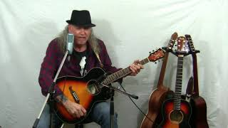 "Neil Young ""Old man"" cover on Fender FA235e"